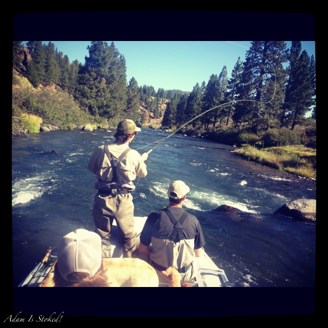 float fishing the truckee river