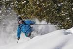 Powder Skiing, West Elk Range