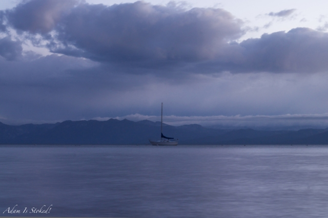 Sailboat on Tahoe
