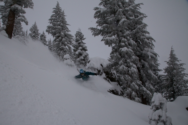 Grouse Rock Tahoe Backcountry, Adam Broderick