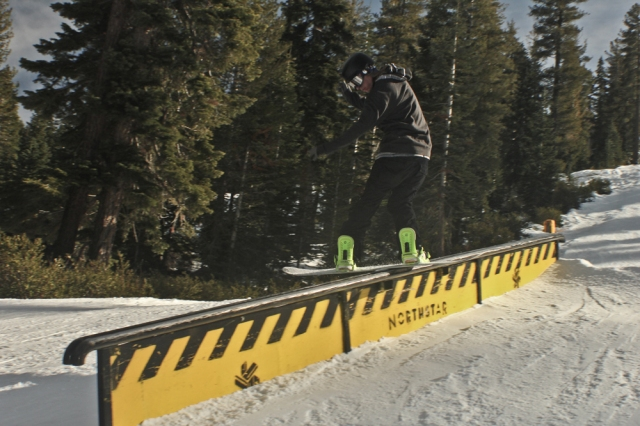 northstar terrain park pictures