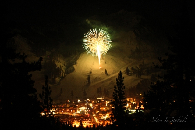 fireworks at squaw valley