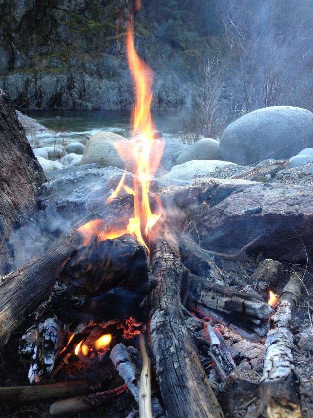 campfire yuba river
