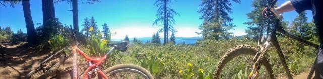 bike trail in kings beach