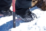 snowboard boots with ski crampons