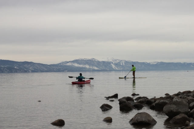 SUP kayak north lake tahoe