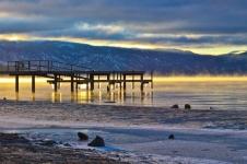 Sunrise & Stalactites in Tahoe