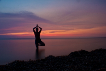 yoga in Roatan, Honduras