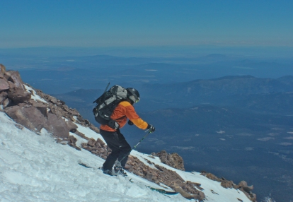 Off the Summit of Shasta