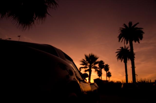 Corvette Sunset