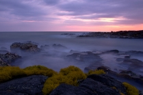kona-sunset-lava-rock