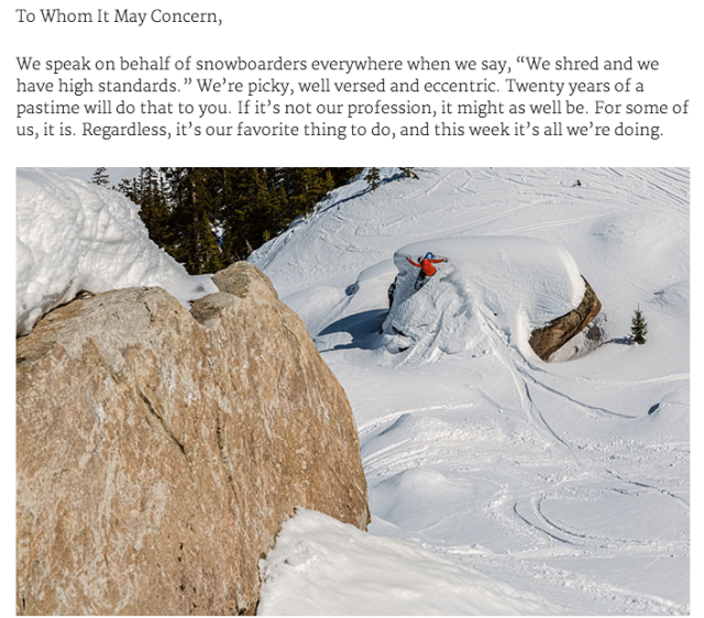 Backcountry Magazine 2015 Splitboard Test
