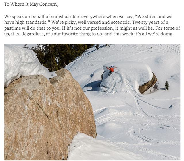 Backcountry Magazine 2015 Splitboard Test