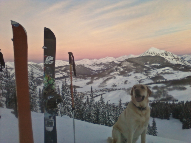 crested butte resort morning skin