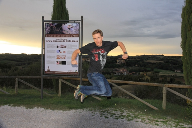 stoked in San Giovasse D'Asso