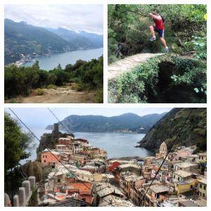 trail running cinque terre, monterosso to corniglia
