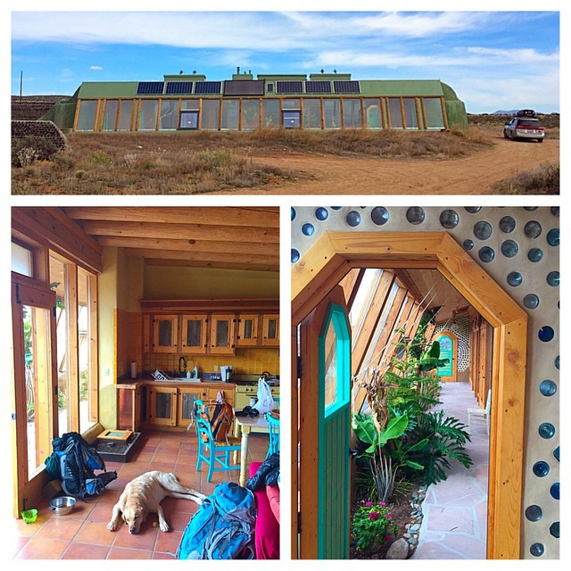 earthship near taos, new mexico - adam broderick