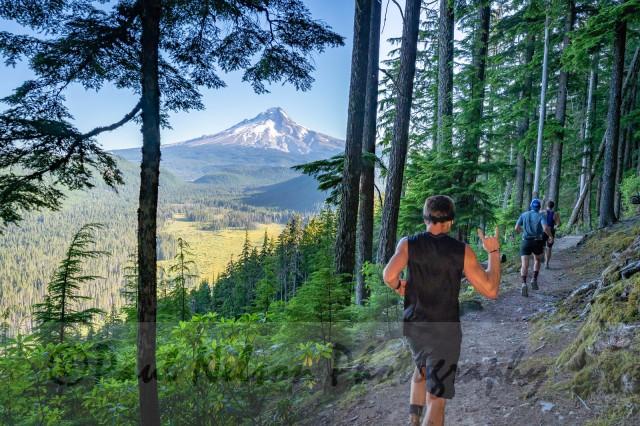 Mount Hood 50 mile race Adam Broderick