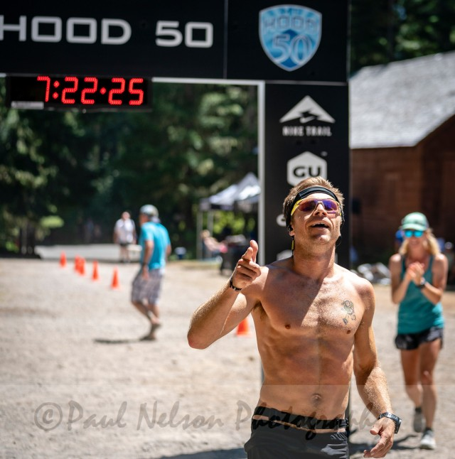 Mt. Hood 50 run race Adam Broderick