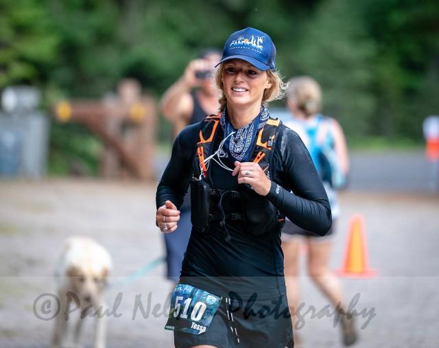 Tessa Mount Hood 50 trail run race